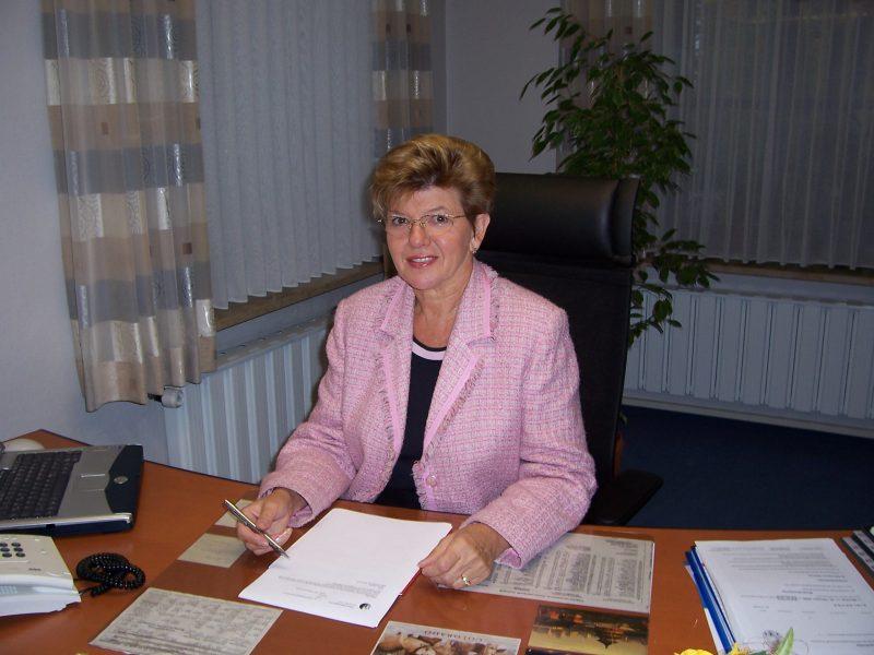 Gabriele Weber - Bürgermeisterin Teuschnitz